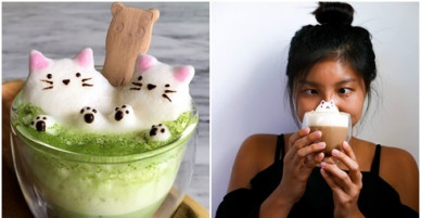 Cô gái đam mê tạo hình cà phê 3D từ bọt sữa đậu nành