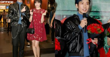"""Hari Won mặc giản dị vẫn đẹp nổi bật bên """"người tình"""" Tuấn Trần"""