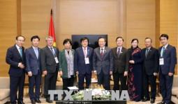 Phó Chủ tịch Quốc hội Phùng Quốc Hiển tiếp Đoàn Hàn Quốc, Nhật Bản dự APPF-26