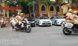 Phân luồng giao thông dịp Hội nghị thường niên lần thứ 26 Diễn đàn nghị viện Châu Á - Thái Bình Dương