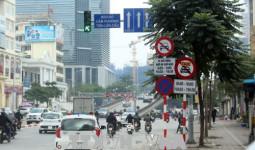 Khó xử lý xe hợp đồng đi vào tuyến phố cấm