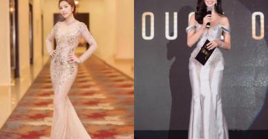 Lần sau diện lại váy của Hà Hồ, Vũ Ngọc Anh nên 'học lỏm' đàn chị điểm này để không thua kém