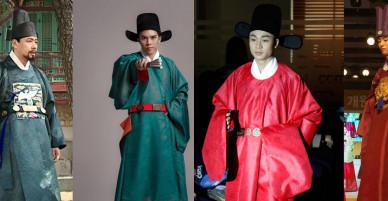 Trang phục vua quan Việt thời Lê có giống hanbok của Hàn Quốc?