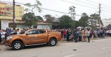 Ôtô lao vào hiện trường vụ tai nạn làm 6 người bị thương