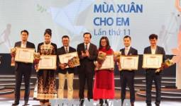 Quỹ Bảo trợ trẻ em Việt Nam tiếp nhận gần 96 tỷ đồng trong chương trình Mùa xuân cho em