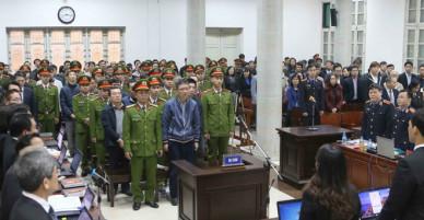 Bị cáo Đinh La Thăng bị xử 13 năm tù, Trịnh Xuân Thanh chung thân - VnExpress