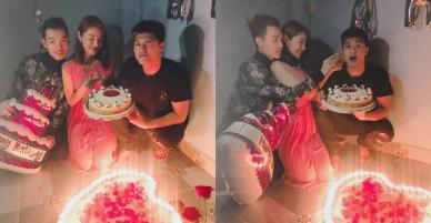 Lâm Vinh Hải và tình cũ Linh Chi tái hợp trong đêm sinh nhật?