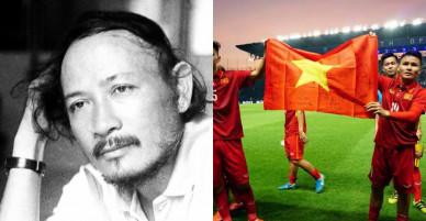 Nhà thơ Lưu Trọng Văn: Sao BLV của VTV không thể tin nổi chiến thắng của U23?