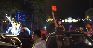 """Giữ đúng lời hứa với fan, Mỹ Tâm xuống đường """"đi bão"""" ăn mừng chiến thắng của U23 Việt Nam"""