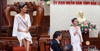 """Hoa hậu H'Hen Niê được Đắk Lắk """"thưởng nóng"""" 30 triệu đồng"""