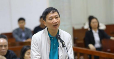 Xét xử vụ tham nhũng tại PVP Land: Trịnh Xuân Thanh bị đề nghị mức án chung thân