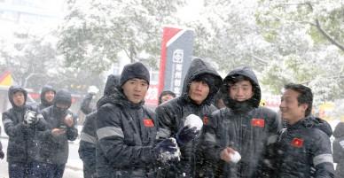 Dự báo có tuyết rơi hôm chung kết, sức khoẻ cầu thủ bị ảnh hưởng thế nào?