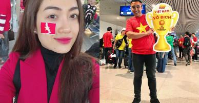 """Quyền Linh, Bình Minh, Hoàng Bách… ngỡ ngàng khi chẳng hẹn mà gặp """"cả showbiz"""" trên chuyến bay tới Thường Châu"""