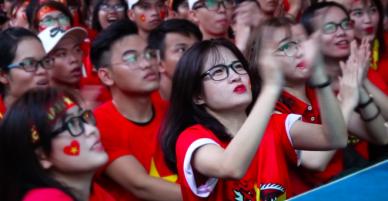 120 phút chung kết U23 châu Á nghẹt thở của người hâm mộ - VnExpress