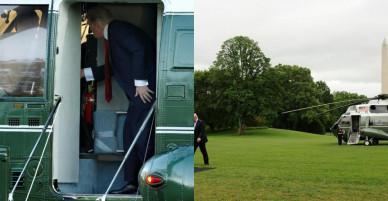 """Một năm """"đi mây về gió"""" của Tổng thống Trump"""