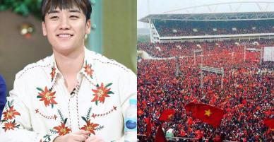 """Seungri (Big Bang) viết hẳn tiếng Việt chúc mừng U23 Việt Nam: """"Giấc mơ đã trở thành hiện thực"""""""