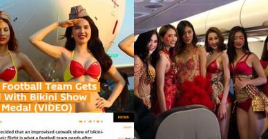 Báo nước ngoài: Đón U23 bằng bikini, 'thẻ đỏ' cho Vietjet