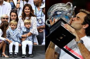 Roger Federer vô địch Australian Open 2018: Càng siêu giàu, càng nể vợ