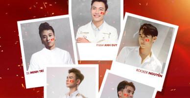 Rocker Nguyễn và dàn sao trẻ phát hành ca khúc tặng U23 Việt Nam