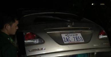 Tài xế vứt lại ôtô Lexus chứa khỉ, rắn khi bị truy bắt - VnExpress