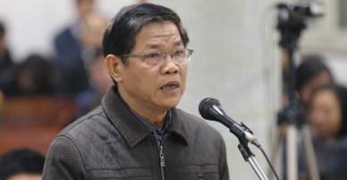 Bị cáo trong vụ án ông Đinh La Thăng chống án