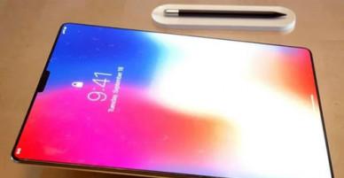 iPad Pro 2018 có thiết kế như iPhone X phóng lớn