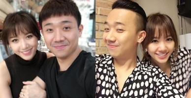 Trấn Thành - Hari Won chăm chỉ selfie khoe tướng phu thê