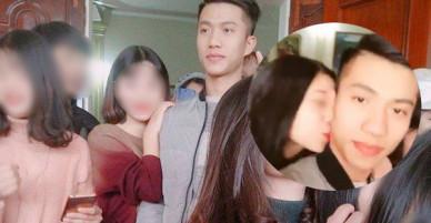 Phan Văn Đức U23 về quê nhà, hàng trăm cô gái bao vây để chụp ảnh và... hôn trộm