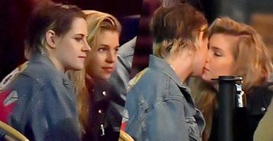Kristen Stewart và người tình đồng giới tình tứ trong nhà hàng
