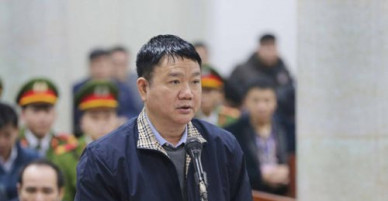 Ông Đinh La Thăng kháng cáo đề nghị xem xét lại tội danh