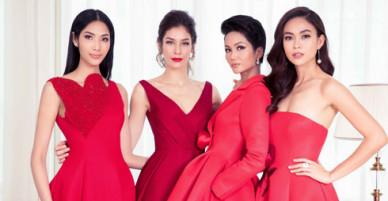 HHen Niê và dàn mỹ nhân đọ sắc bên Hoa hậu Hoàn vũ Dayana Mendoza
