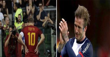 Khoảnh khắc đầy xúc động khi các siêu sao bóng đá nói lời từ giã sự nghiệp quần đùi áo số