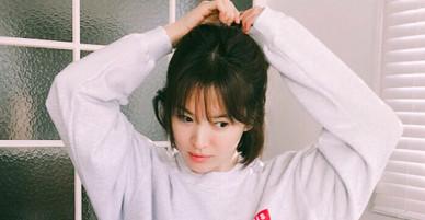 Song Hye Kyo khoe ảnh em chưa 18
