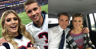 Người đẹp Bouchard hẹn hò chàng sinh viên tại Super Bowl