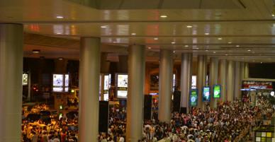 Sân bay Tân Sơn Nhất quá tải người thân đón kiều bào về quê ăn Tết cổ truyền