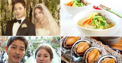 Sao Hàn đãi thượng khách những gì trong tiệc cưới xa hoa?