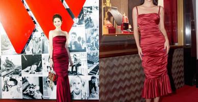 """Bị """"tố"""" mặc váy nhái giống Quỳnh Anh Shyn, Ngọc Trinh đáp trả thế này đây!"""