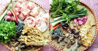 [Chế biến] – Canh măng khô móng giò mềm ngon mương hương vị truyền thống ngày Tết