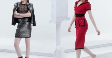 Hoa hậu Kỳ Duyên mặc cá tính với váy ngắn quá gối