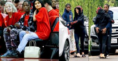 Hai chuyện tình ồn ào của 'hot girl' triệu phú Kylie Jenner