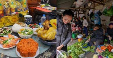Đội trưởng tuyển bóng đá Việt Nam làm cơm, thả cá chép tiễn Táo quân