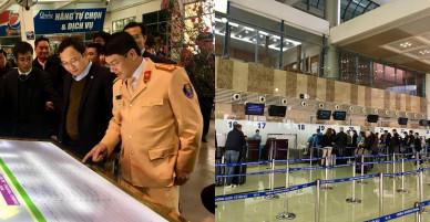 """Sân bay, bến xe ở Hà Nội """"nhàn rỗi"""" lạ thường ngày cận Tết"""