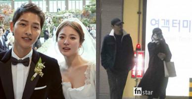 Hành trình 100 ngày về chung nhà đầy ngọt ngào của Song Joong Ki và Song Hye Kyo