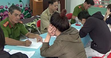 Cận Tết phát hiện nhiều thanh niên phê ma tuý trong khách sạn ở Sài Gòn