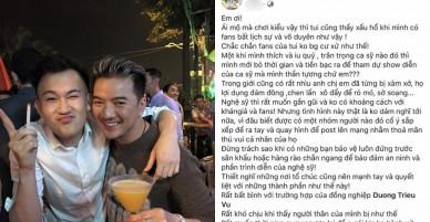 Dương Triệu Vũ bị 'sàm sỡ', Đàm Vĩnh Hưng bức xúc: 'Rất khó chịu khi người thân của mình bị như thế'
