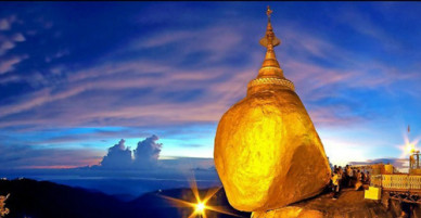 Bí ẩn về hòn đá thiêng, nghiêng mãi không đổ ở Myanmar