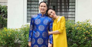 Tăng Thanh Hà và dàn sao Việt xúng xính váy áo đi chúc Tết ngày mùng 1