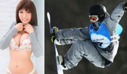 Người đẹp phim khiêu dâm Nhật giành HC vàng trượt ván tuyết chỉ sau 4 ngày tập luyện