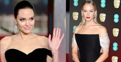 Thảm đỏ Oscar Anh Quốc: Dàn siêu sao tiếp tục khoe sắc với váy đen để ủng hộ phong trào chống quấy rối tình dục