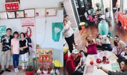 Sao Việt đón Tết: Mỹ Tâm tặng sách cho fan, H'Hen Niê giản dị cổ vũ hội đua thuyền